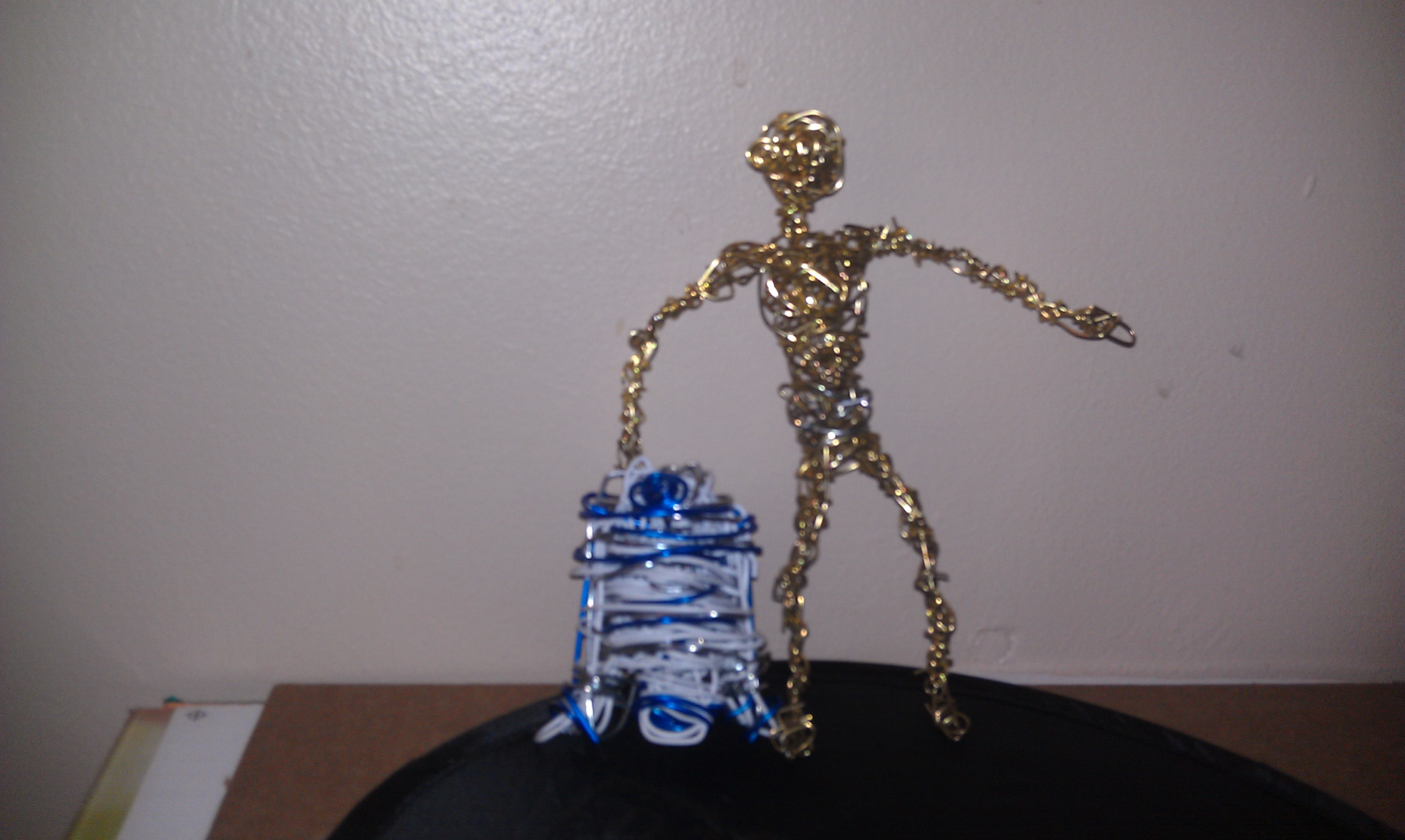 Robots Paperclip Creations